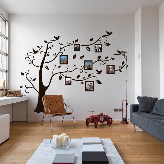 muursticker familieboom