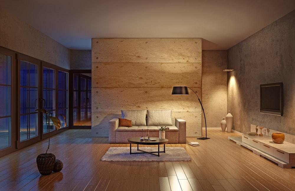 Besparen op gas en stroom in de woonkamer