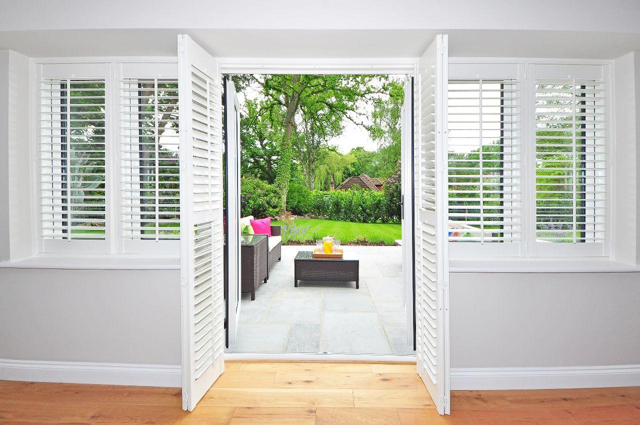 Houten shutters