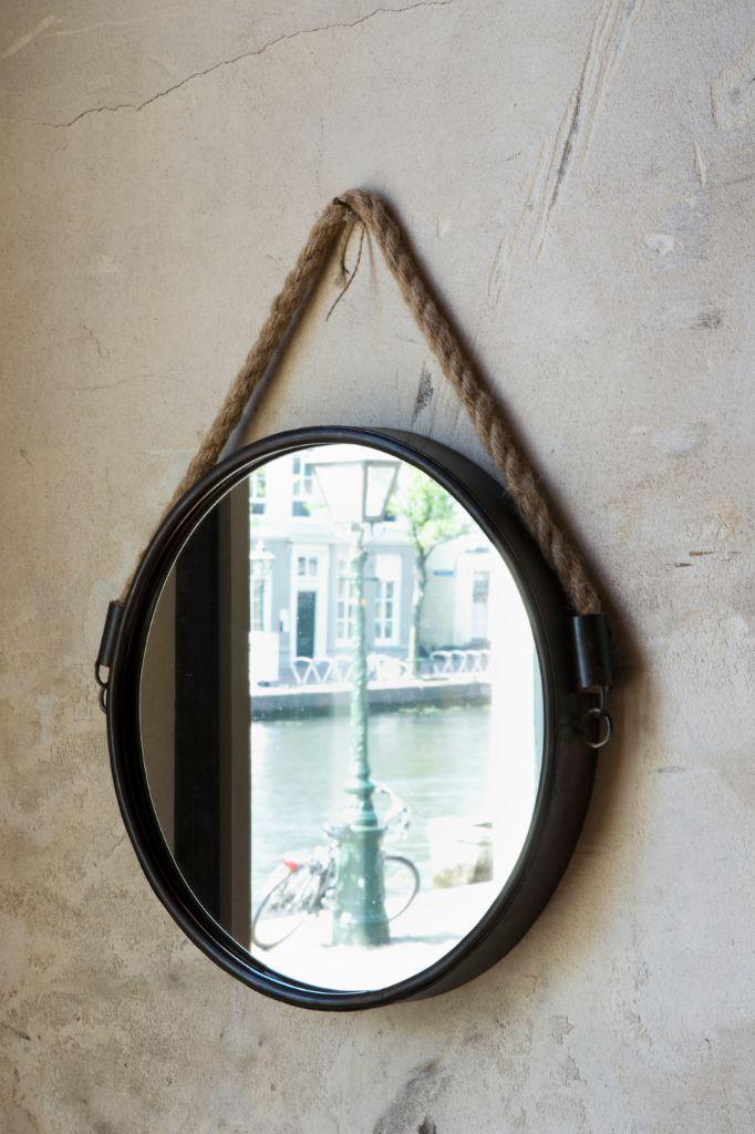 Spiegel Force brons met tou