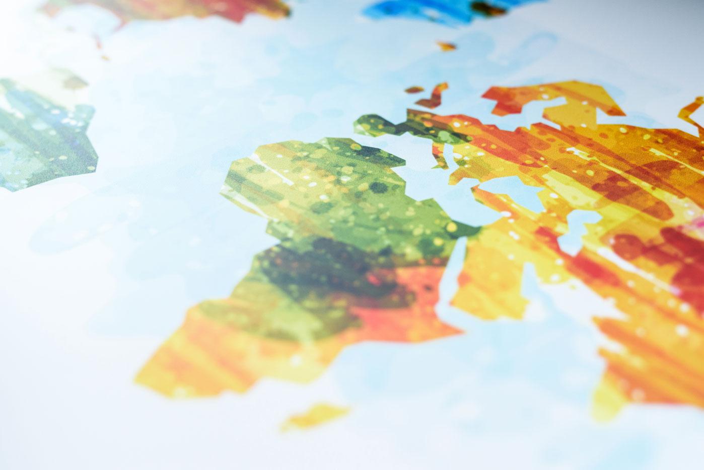 grote wereldkaart