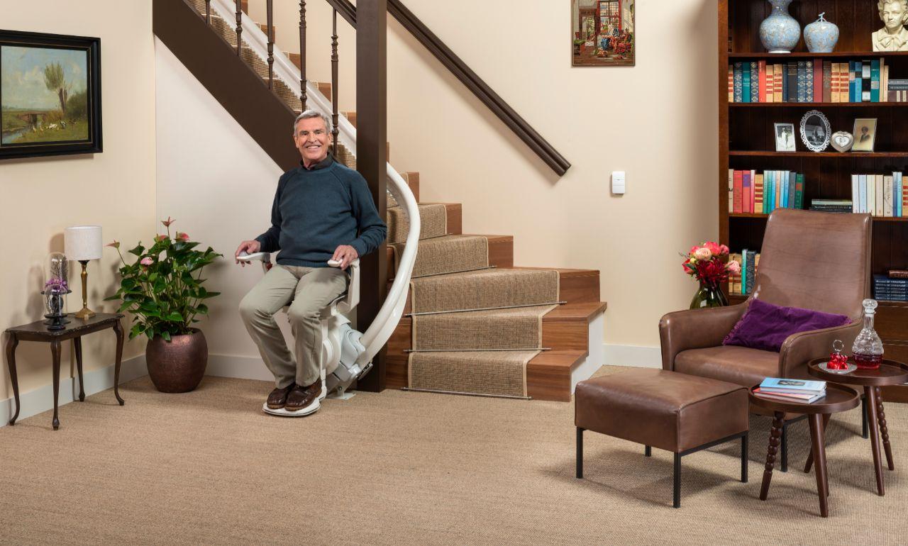 Langer thuis blijven wonen met een traplift