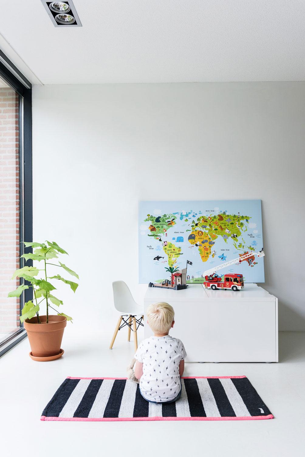 unieke wereldkaart kinderen