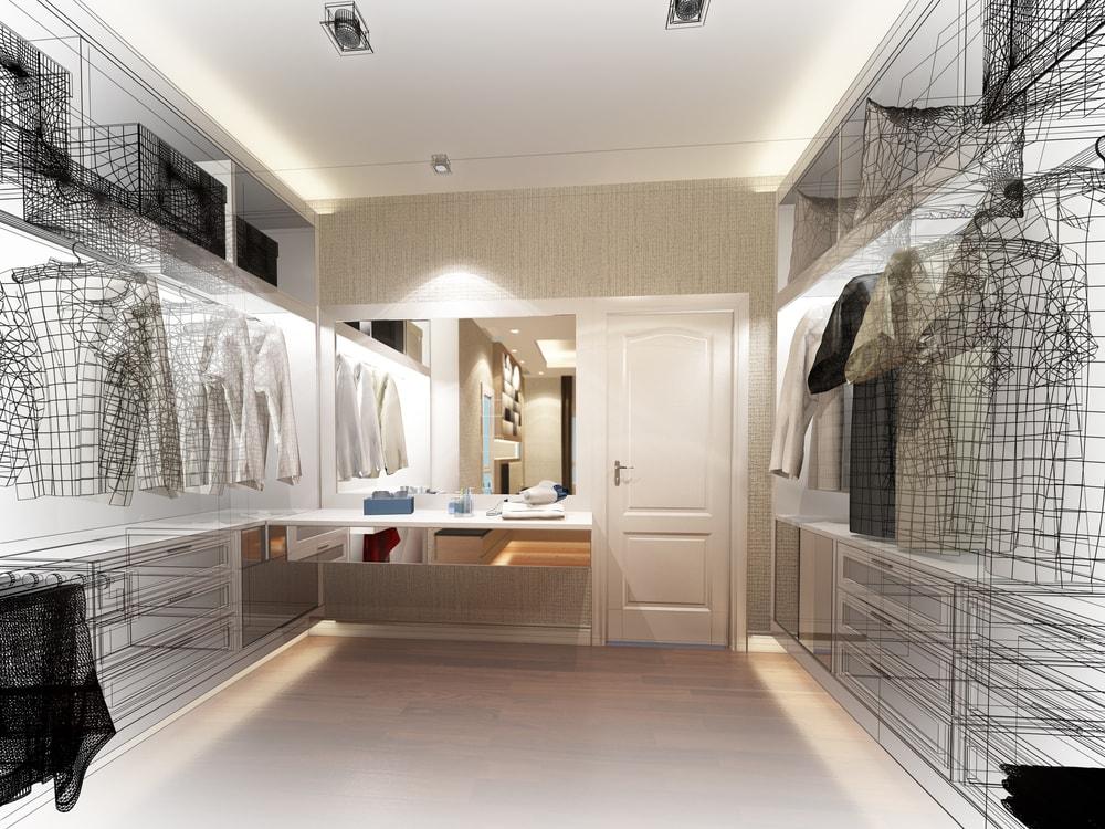Benut de ruimte tussen de bovenkant van de kast en het plafond