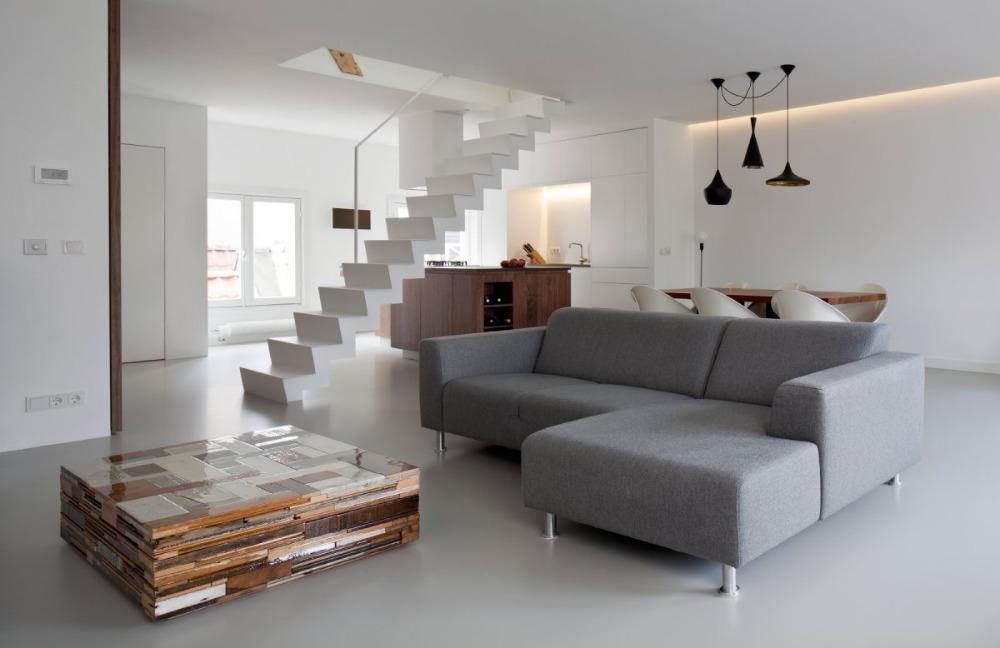 Waarom een gietvloer in je woonkamer fantastisch is