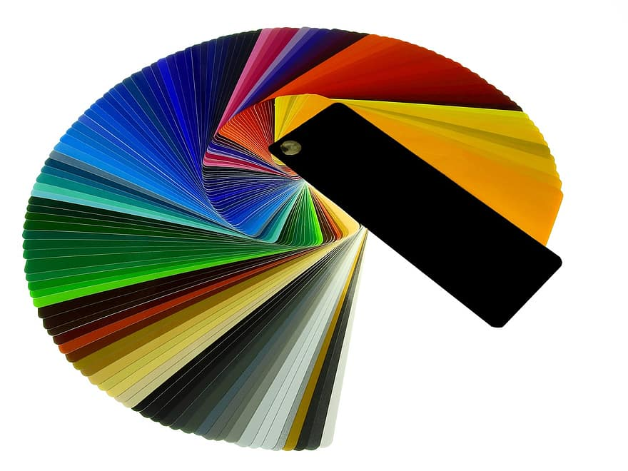 Kleuren waaier