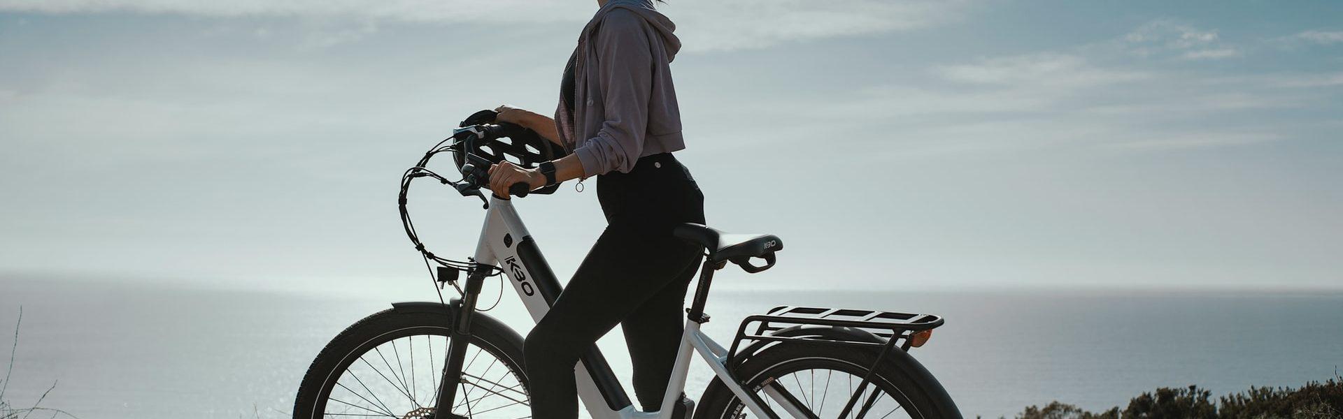 Hoe berg je een e-bike op in je appartement?